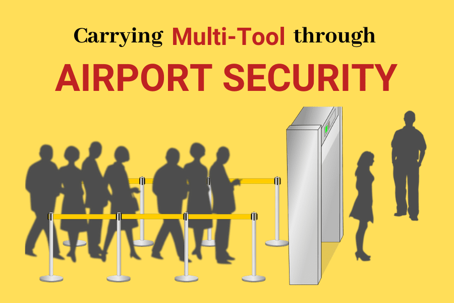 Multitools in airport