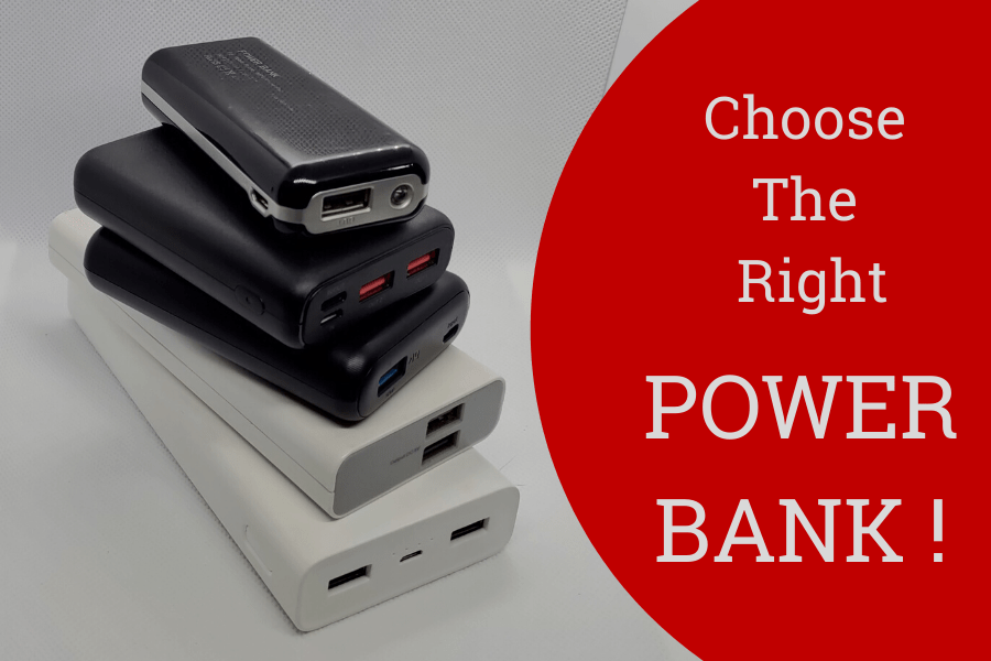 Choose the right power bank