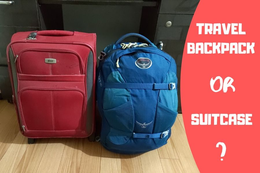 Travel Backpack or Suitcase?