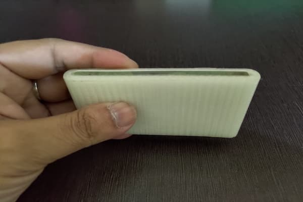 Duct tape on a credit card