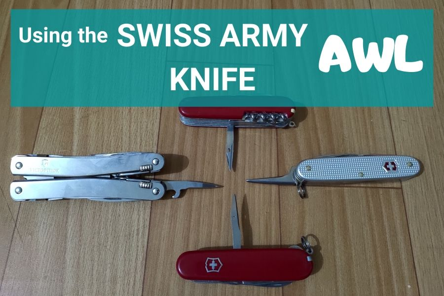 Swiss Army Knife Awl