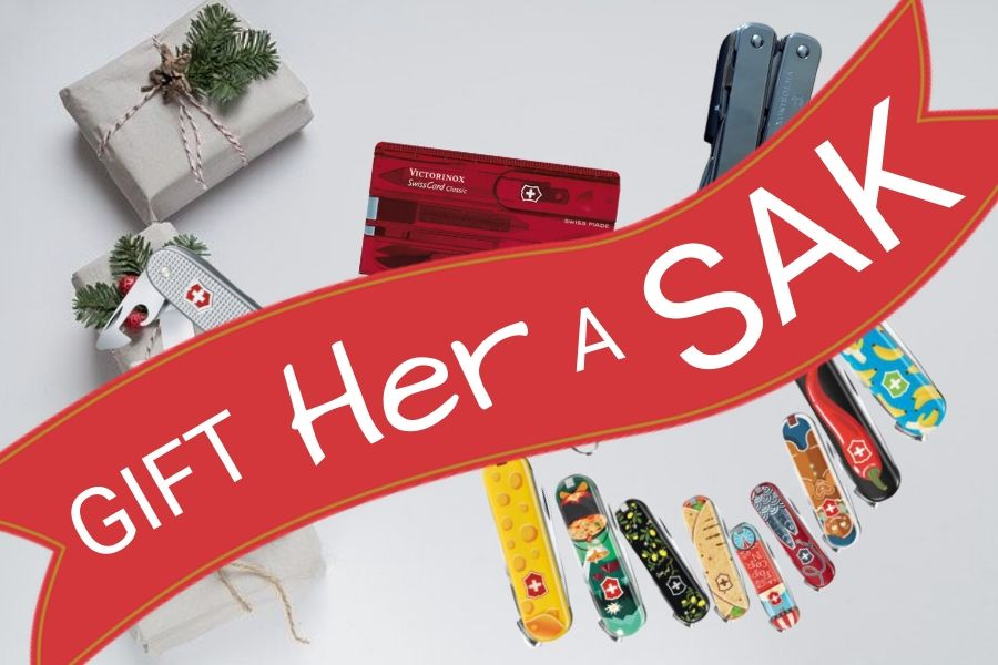 Swiss Army Knife as a gift for women