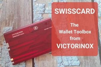Victorinox SwissCard: The Swiss Army Knife Credit Card Tool